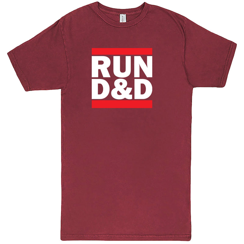 """Run D&D"" Men's Shirt Vintage Brick"