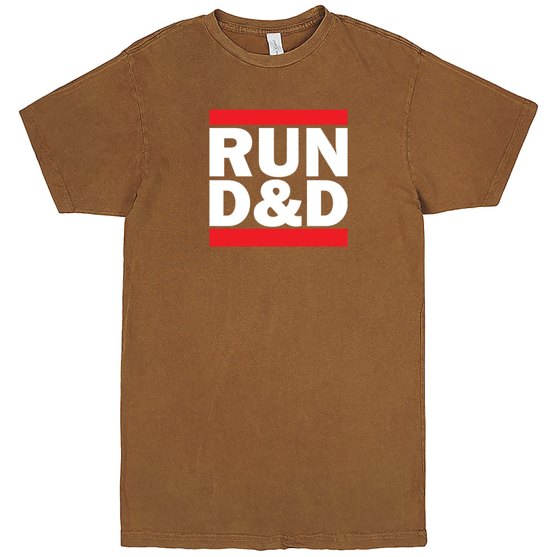 """Run D&D"" Men's Shirt Vintage Camel"