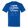 Camping is In Tents Men's Tee