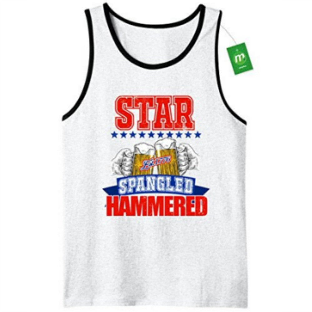 Star Spangled Hammered - Men's Tank Top