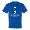 Project Semicolon Inspired Men's T-Shirt