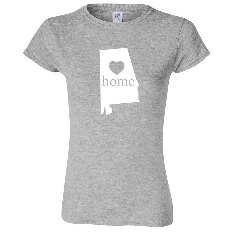 """Alabama Home State Pride"" women's t-shirt Sport Grey"