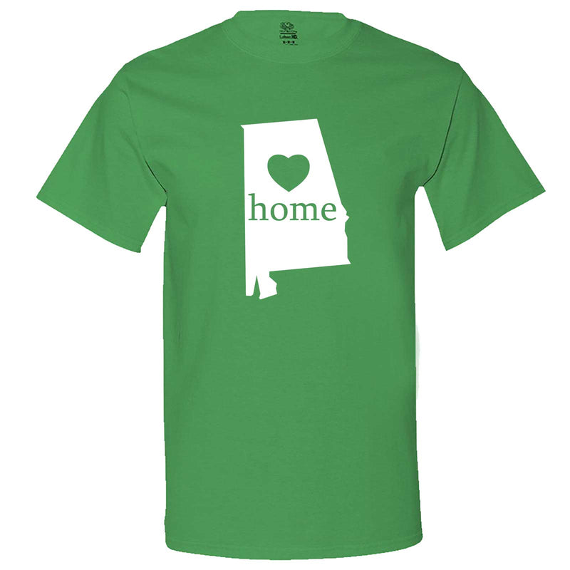 """Alabama Home State Pride"" men's t-shirt Irish-Green"