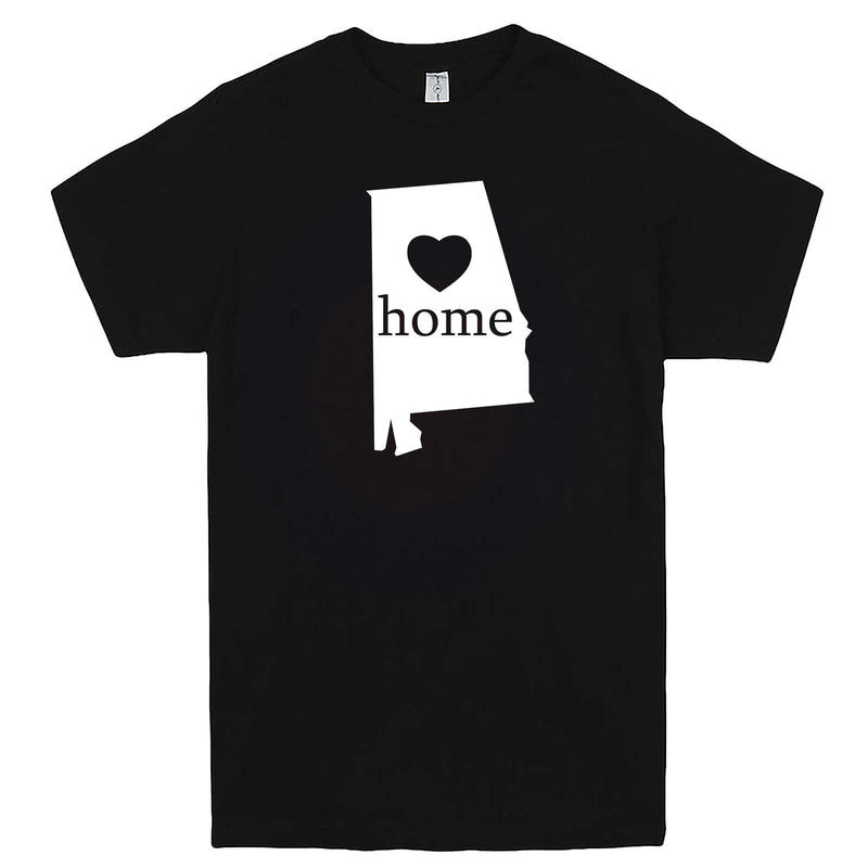 """Alabama Home State Pride"" men's t-shirt Black"