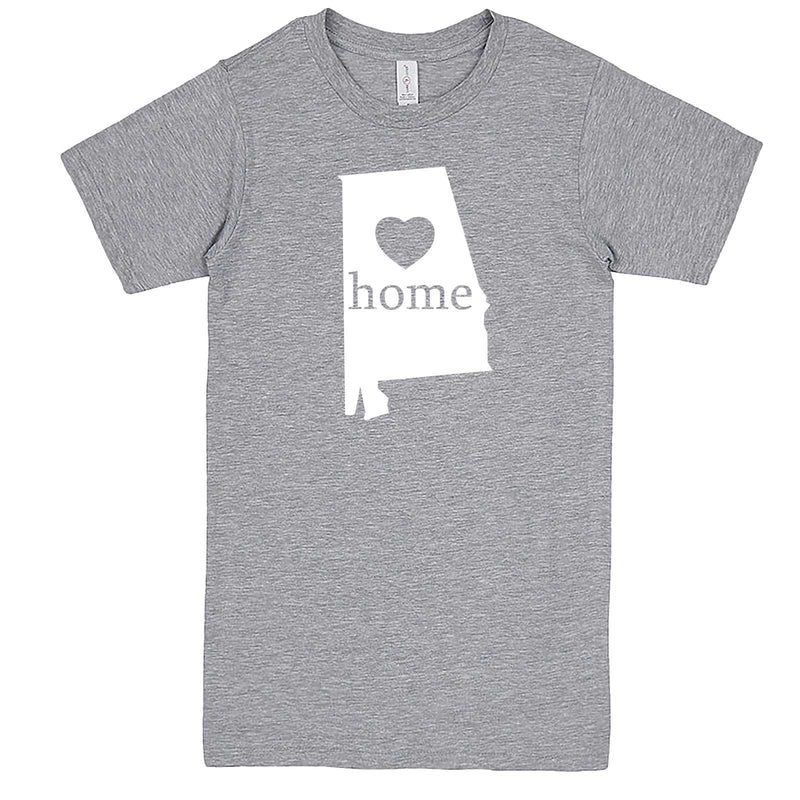 """Alabama Home State Pride"" men's t-shirt Heather-Grey"