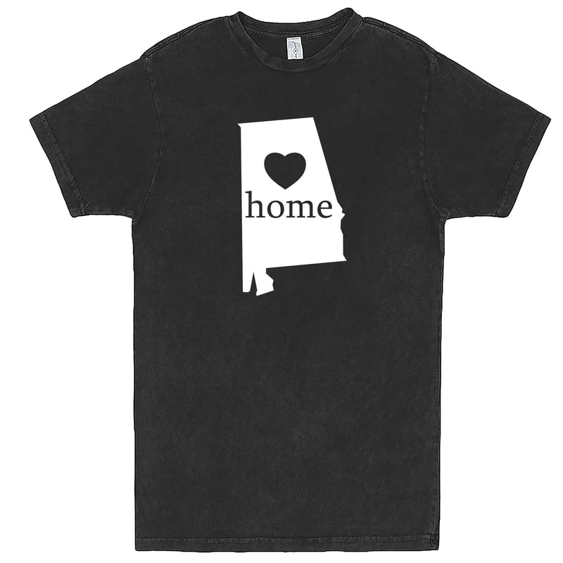 """Alabama Home State Pride"" men's t-shirt Vintage Black"
