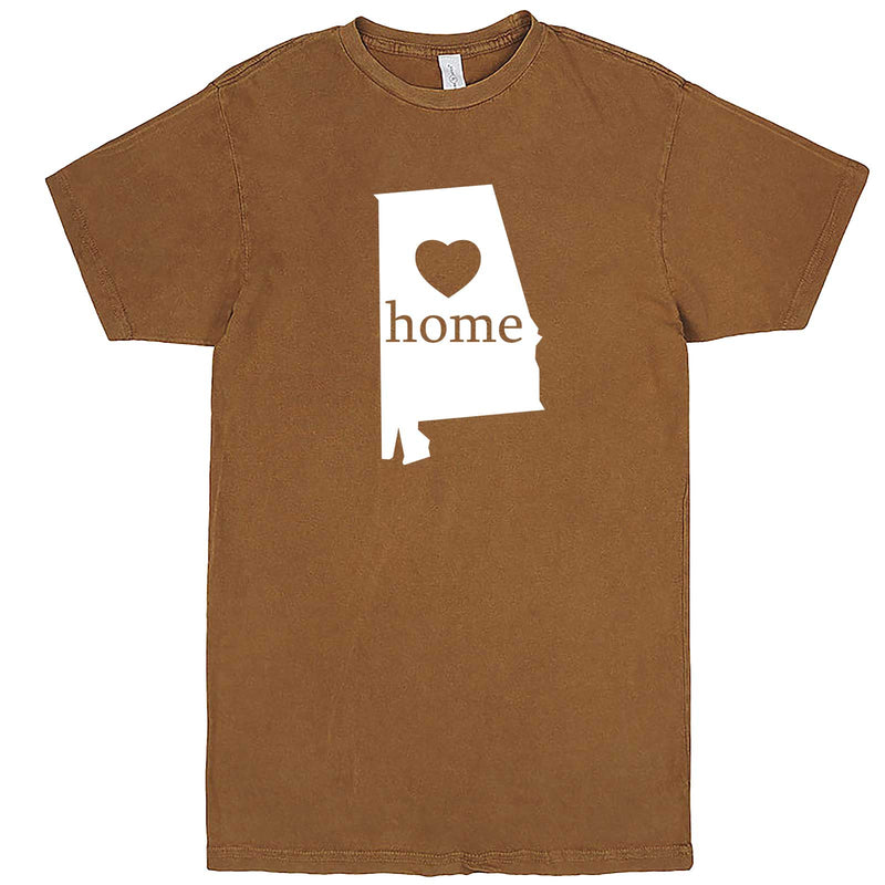 """Alabama Home State Pride"" men's t-shirt Vintage Camel"