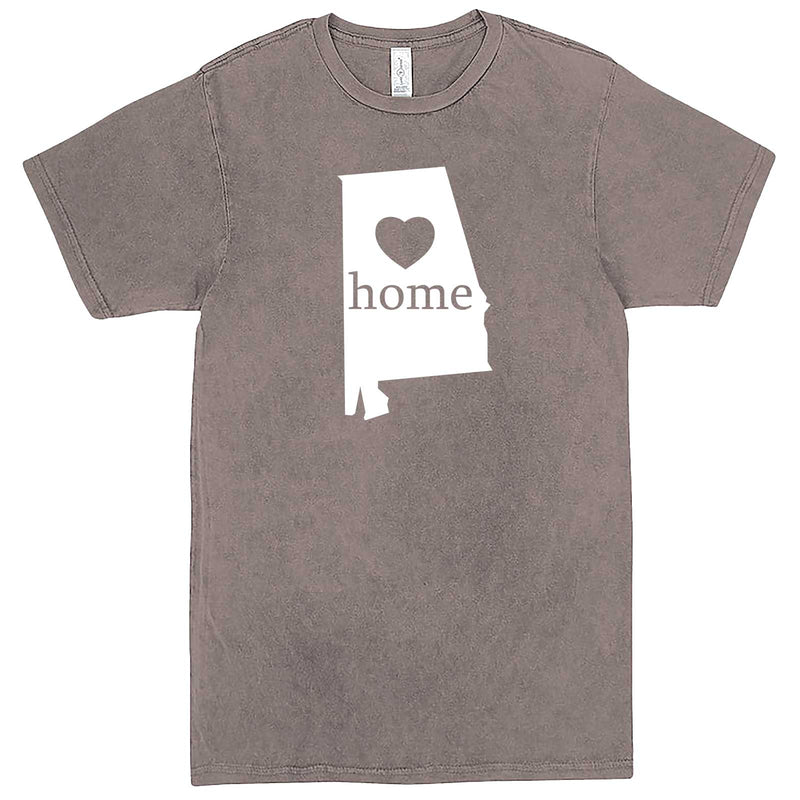 """Alabama Home State Pride"" men's t-shirt Vintage Zinc"