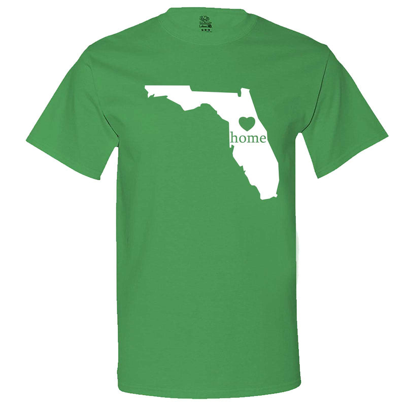 """Florida Home State Pride"" men's t-shirt Irish-Green"