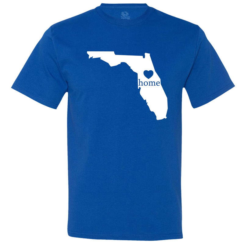 """Florida Home State Pride"" men's t-shirt Royal-Blue"