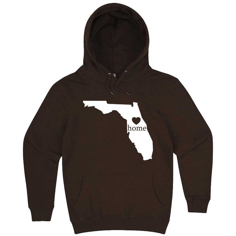"""Florida Home State Pride"" hoodie, 3XL, Chestnut"