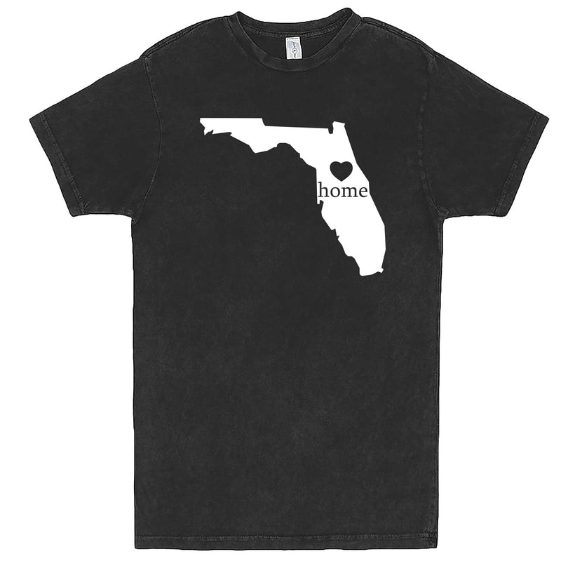 """Florida Home State Pride"" men's t-shirt Vintage Black"