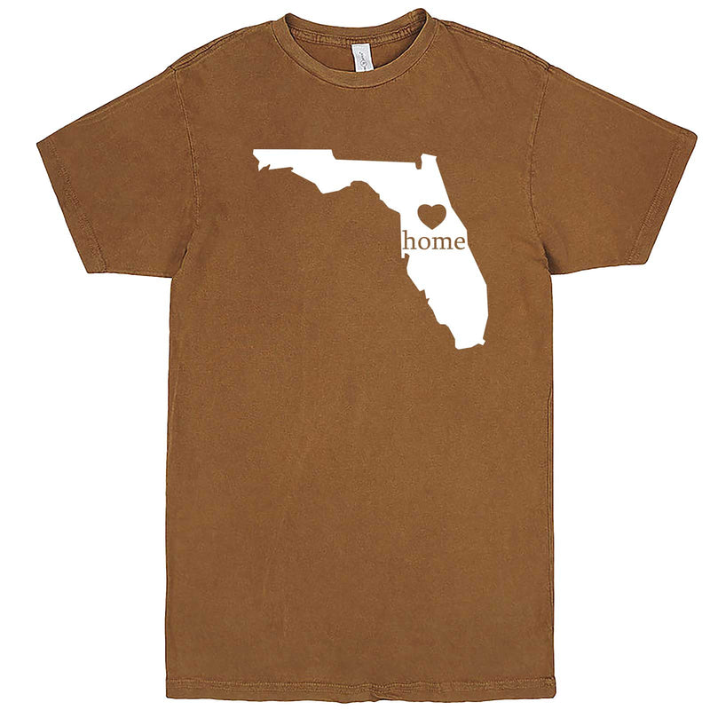 """Florida Home State Pride"" men's t-shirt Vintage Camel"
