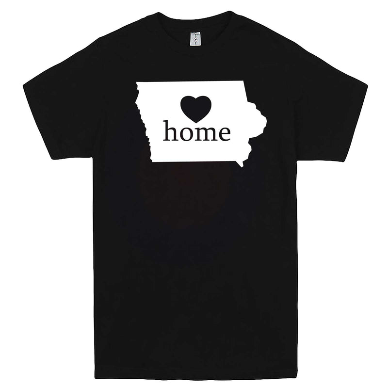"""Iowa Home State Pride"" men's t-shirt Black"