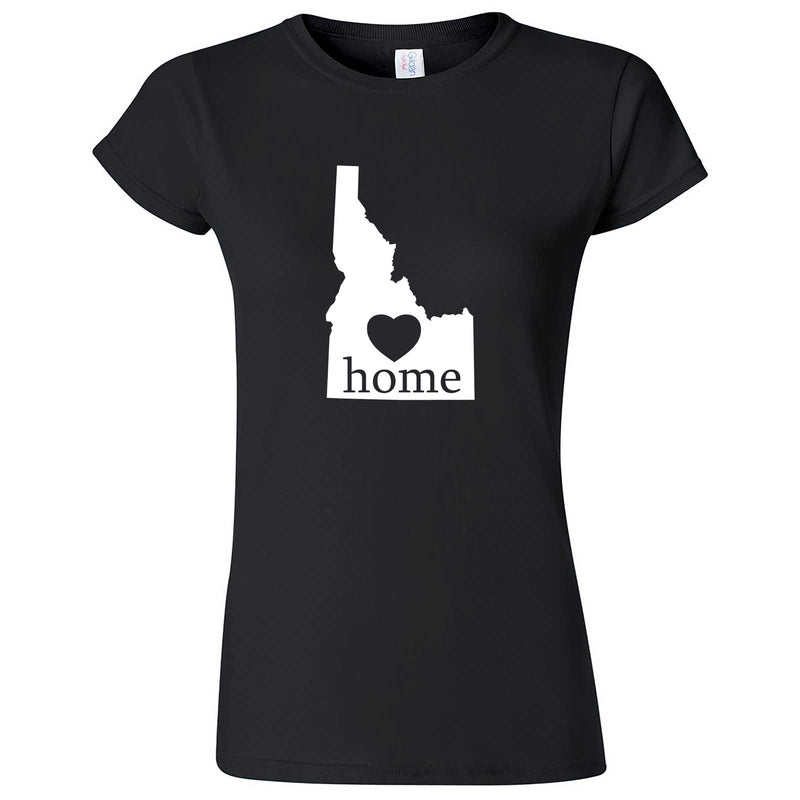 """Idaho Home State Pride"" women's t-shirt Black"