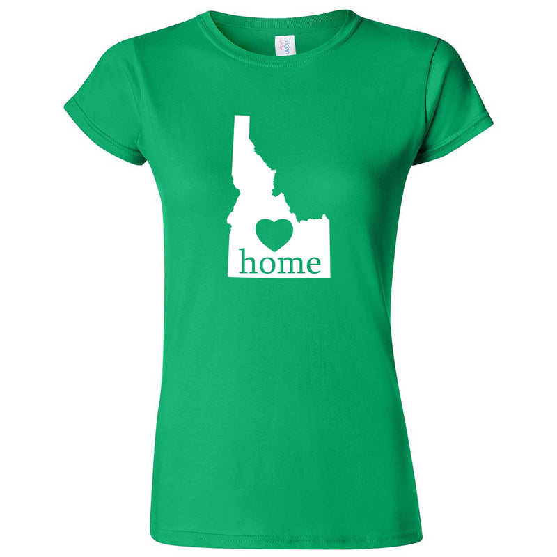 """Idaho Home State Pride"" women's t-shirt Irish Green"
