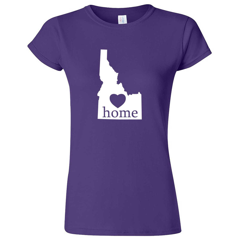 """Idaho Home State Pride"" women's t-shirt Purple"