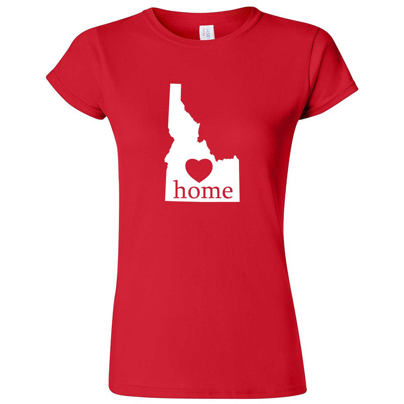 """Idaho Home State Pride"" women's t-shirt Red"