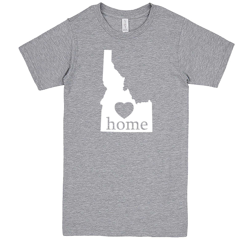 """Idaho Home State Pride"" men's t-shirt Heather-Grey"