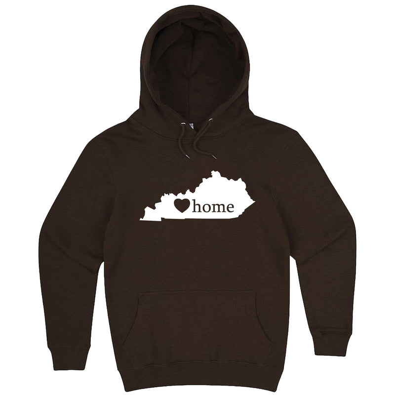 """Kentucky Home State Pride"" hoodie, 3XL, Chestnut"