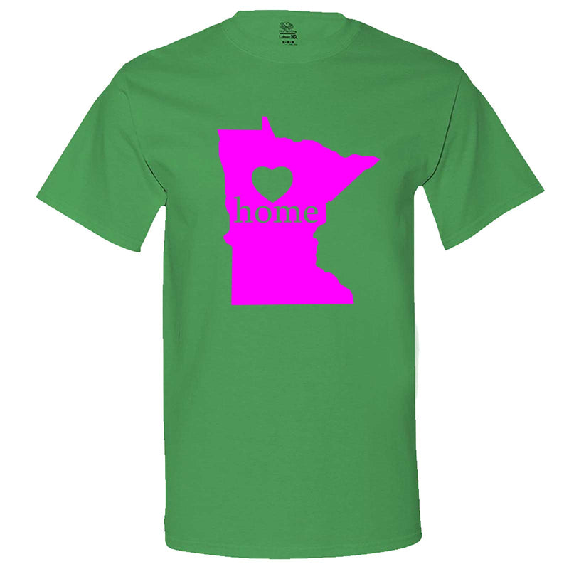"""Minnesota Home State Pride"" men's t-shirt Irish-Green"