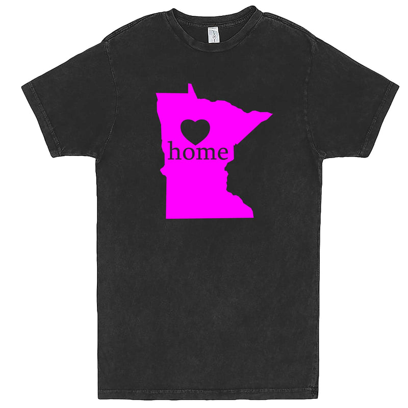 """Minnesota Home State Pride"" men's t-shirt Vintage Black"