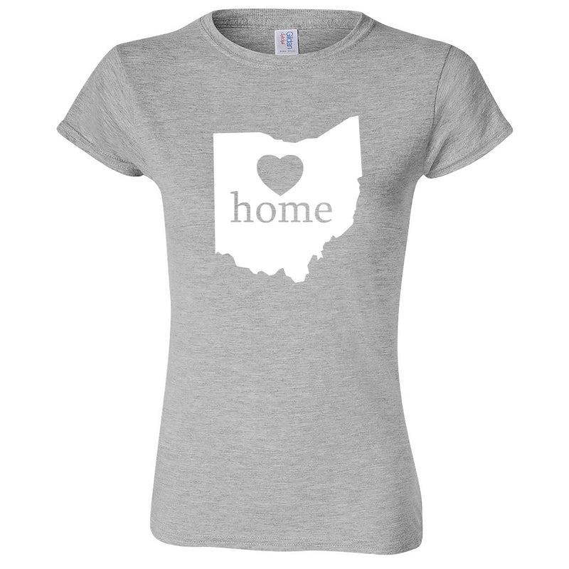 """Ohio Home State Pride"" women's t-shirt Sport Grey"