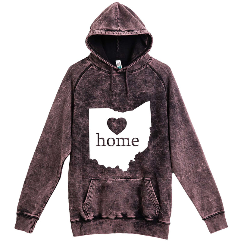 """Ohio Home State Pride"" hoodie, 3XL, Vintage Cloud Black"