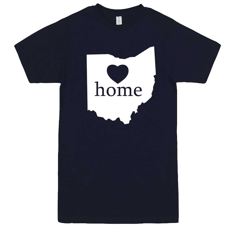 """Ohio Home State Pride"" men's t-shirt Navy-Blue"
