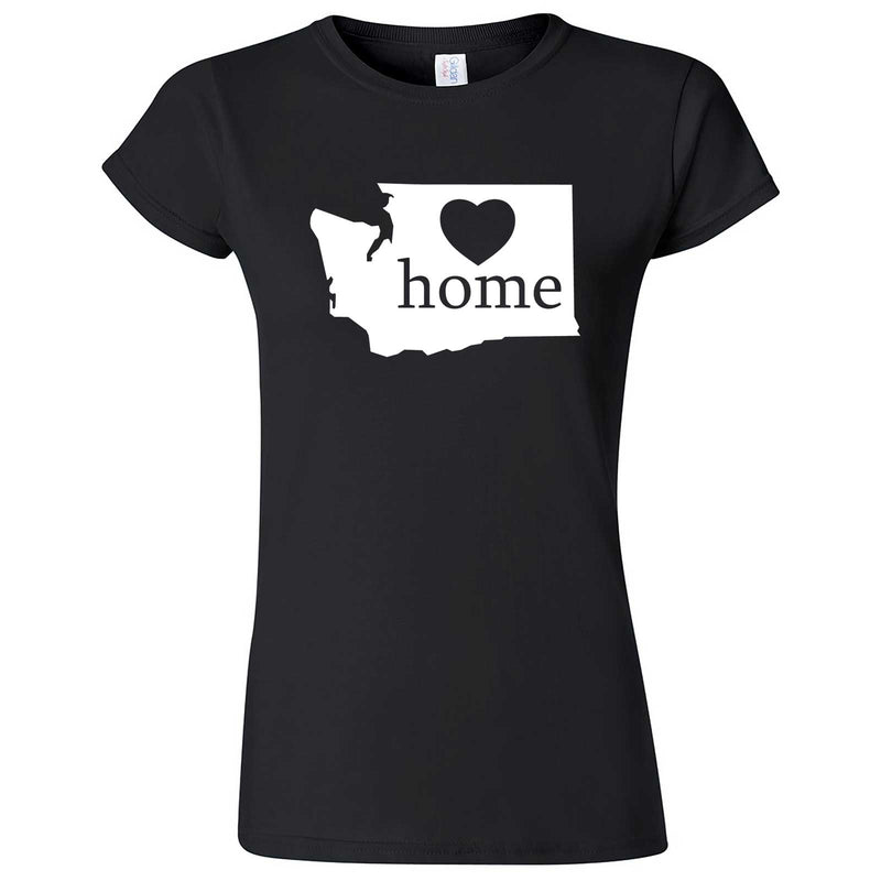 """Washington Home State Pride"" women's t-shirt Black"