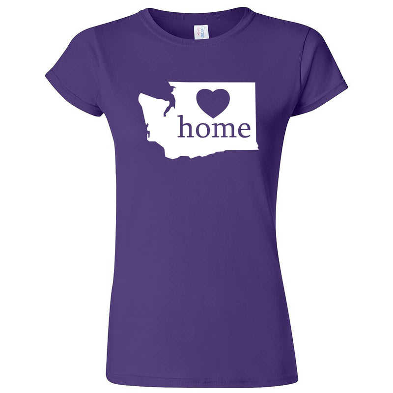 """Washington Home State Pride"" women's t-shirt Purple"