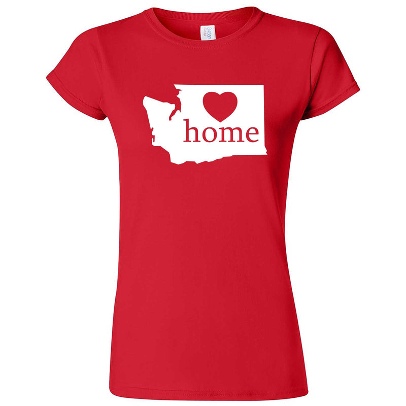 """Washington Home State Pride"" women's t-shirt Red"