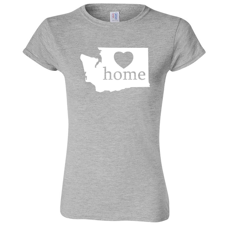 """Washington Home State Pride"" women's t-shirt Sport Grey"