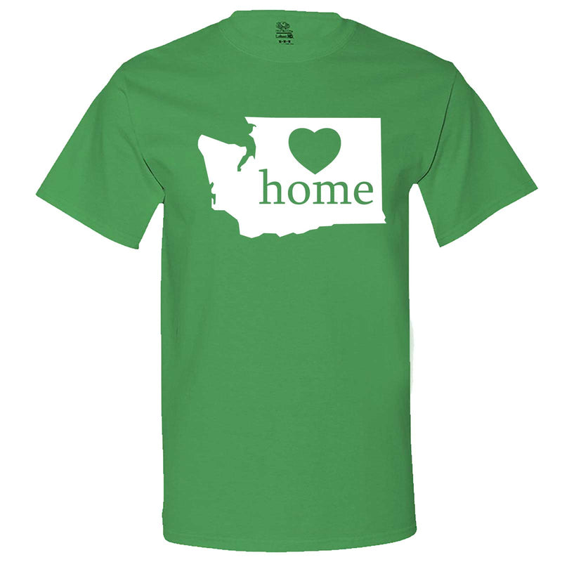 """Washington Home State Pride"" men's t-shirt Irish-Green"