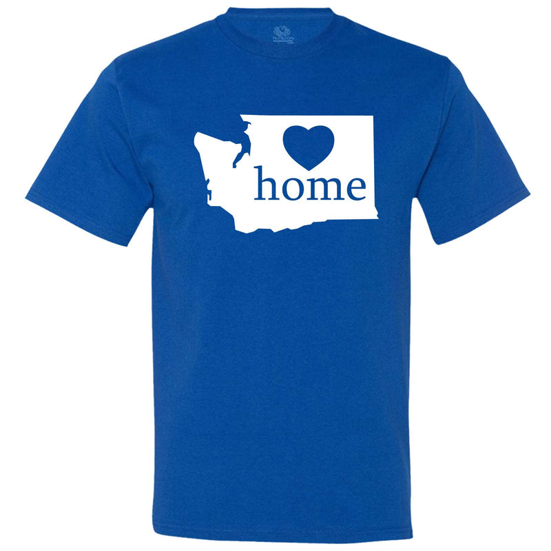 """Washington Home State Pride"" men's t-shirt Royal-Blue"