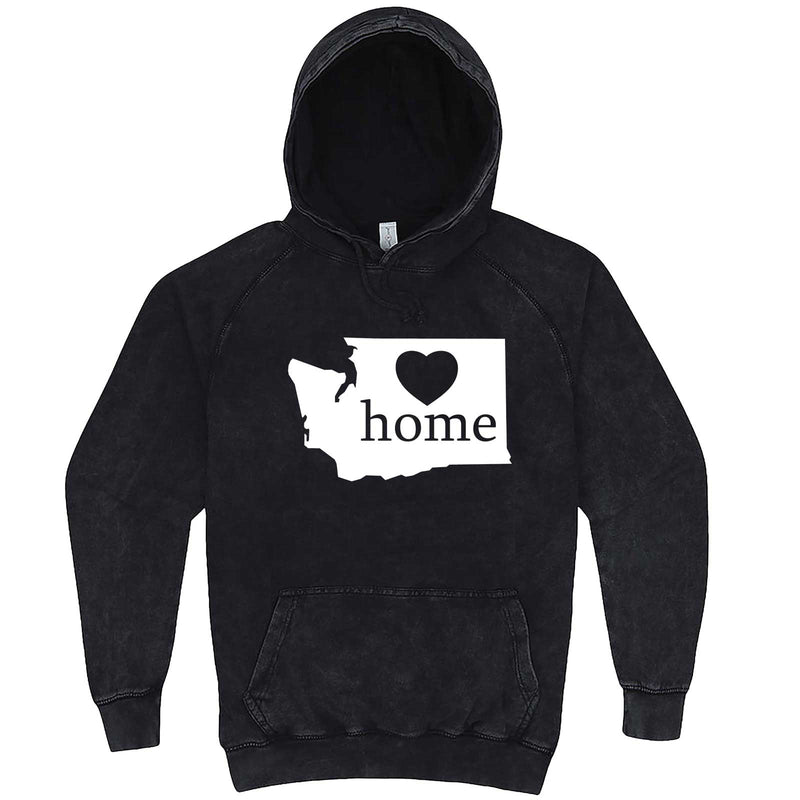"""Washington Home State Pride"" hoodie, 3XL, Vintage Black"