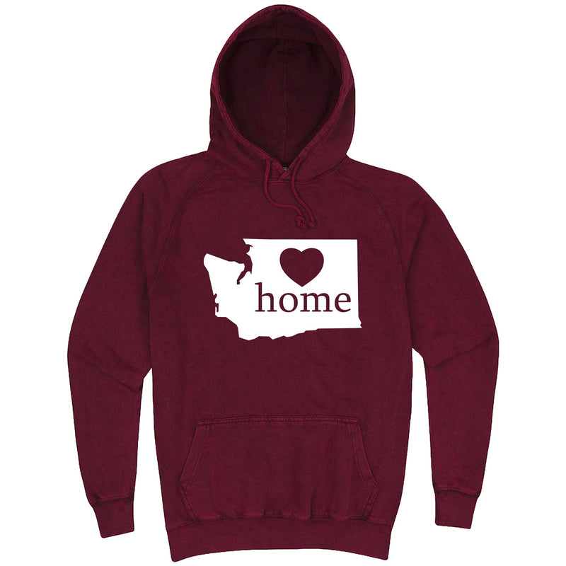 """Washington Home State Pride"" hoodie, 3XL, Vintage Brick"