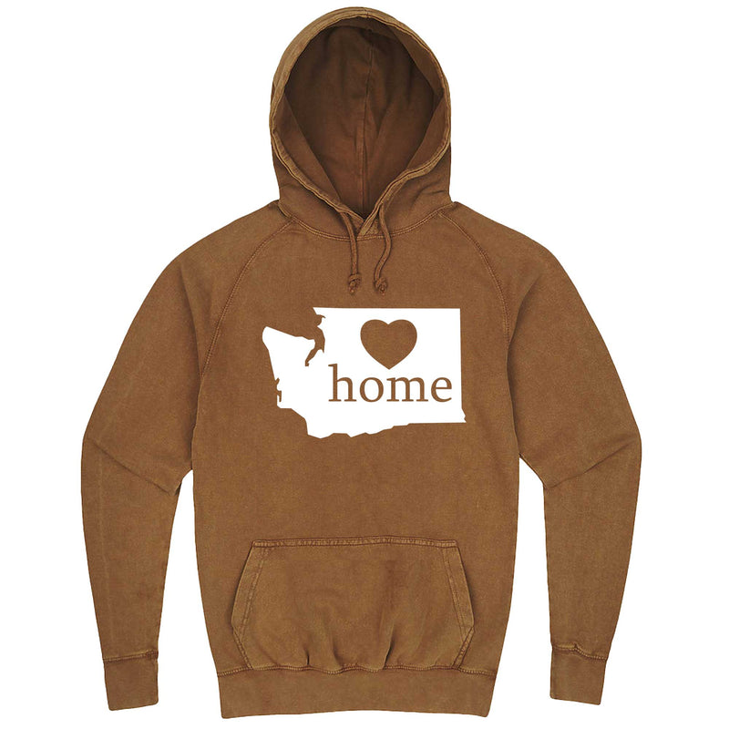 """Washington Home State Pride"" hoodie, 3XL, Vintage Camel"