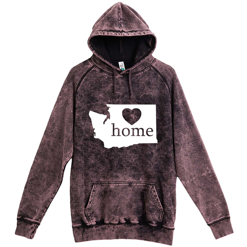 """Washington Home State Pride"" hoodie, 3XL, Vintage Cloud Black"
