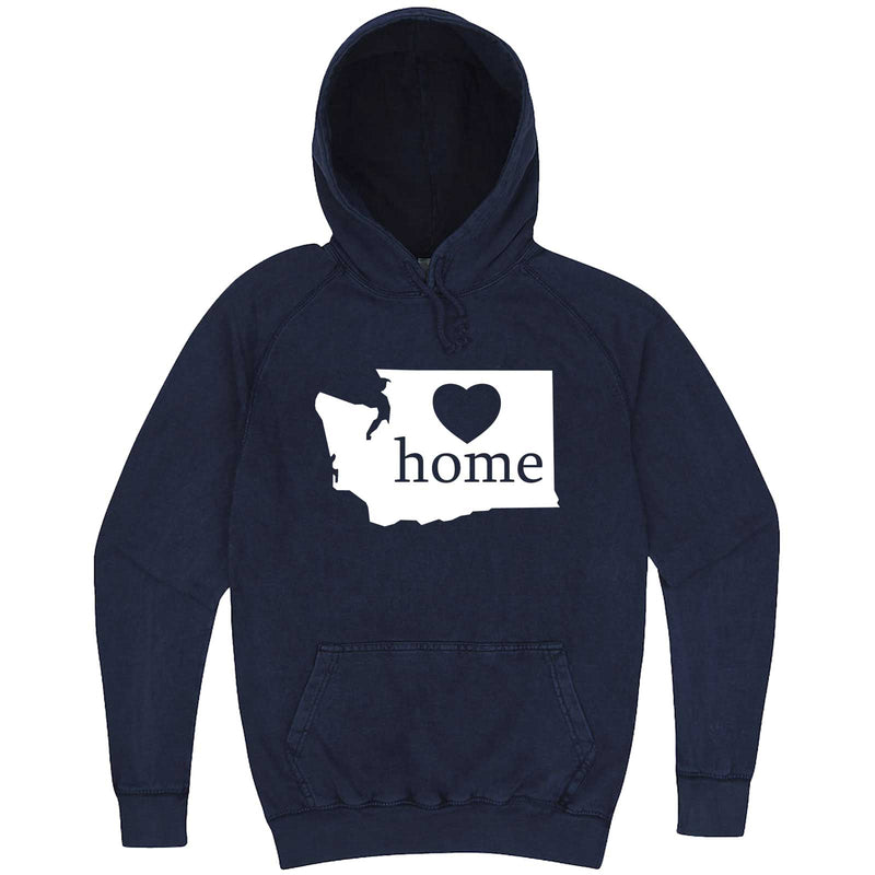 """Washington Home State Pride"" hoodie, 3XL, Vintage Denim"