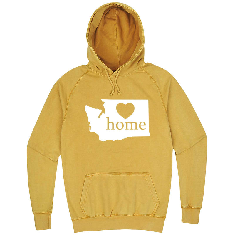 """Washington Home State Pride"" hoodie, 3XL, Vintage Mustard"