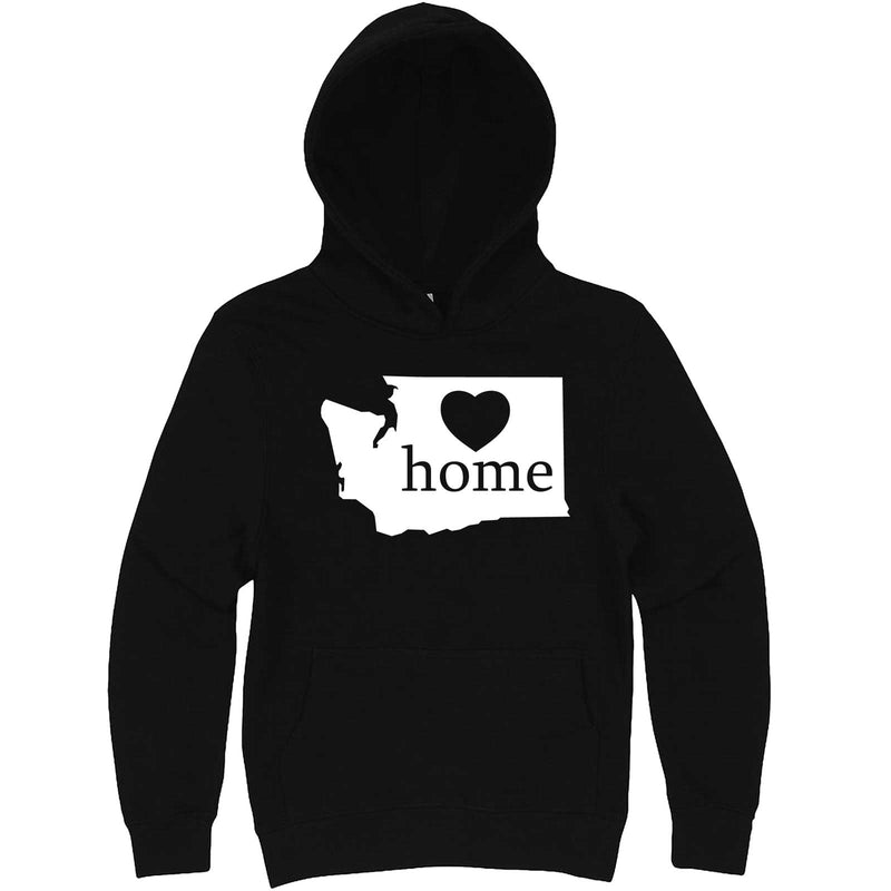 """Washington Home State Pride"" hoodie, 3XL, Black"