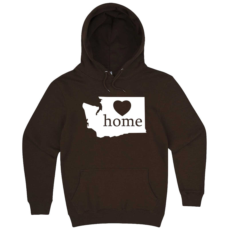 """Washington Home State Pride"" hoodie, 3XL, Chestnut"