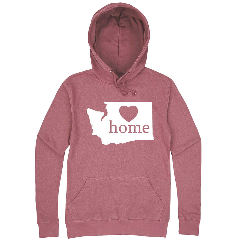 """Washington Home State Pride"" hoodie, 3XL, Mauve"