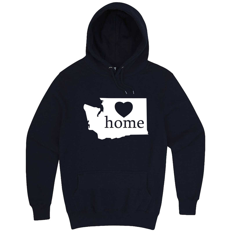 """Washington Home State Pride"" hoodie, 3XL, Navy"