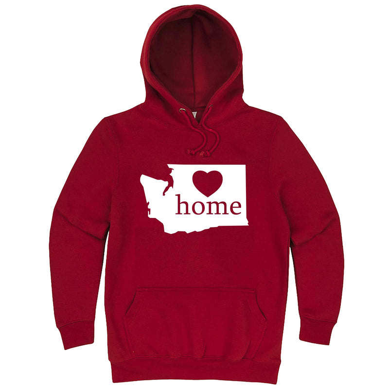 """Washington Home State Pride"" hoodie, 3XL, Paprika"