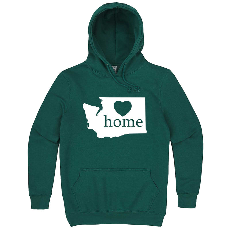 """Washington Home State Pride"" hoodie, 3XL, Teal"