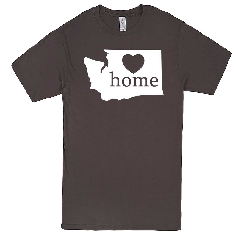 """Washington Home State Pride"" men's t-shirt Charcoal"