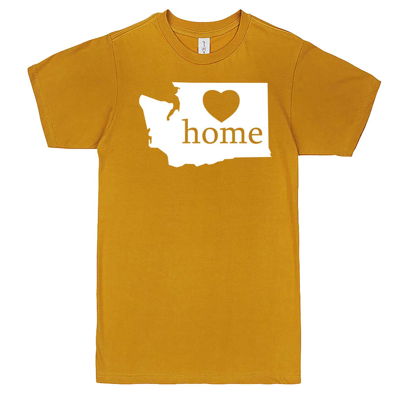 """Washington Home State Pride"" men's t-shirt Mustard"