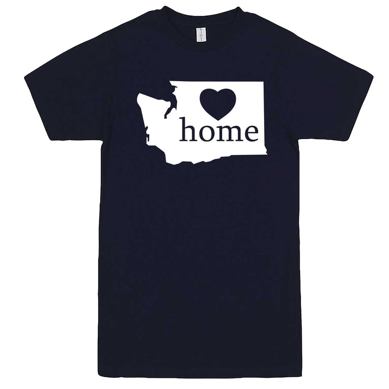 """Washington Home State Pride"" men's t-shirt Navy-Blue"